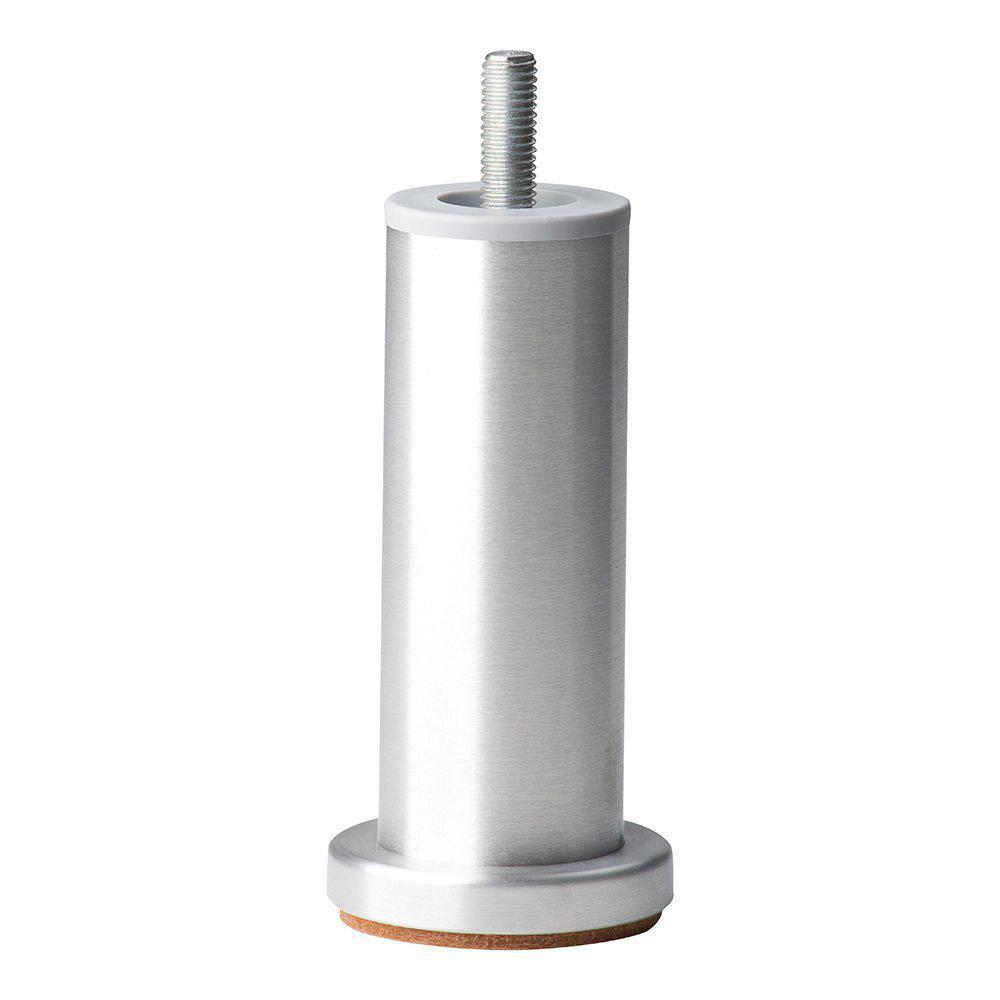 Ronde aluminium meubelpoot 12 cm (M10)