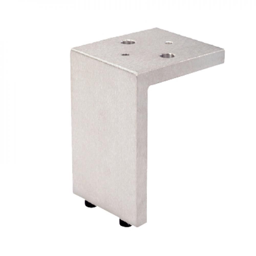 Aluminium hoek meubelpoot 10 cm