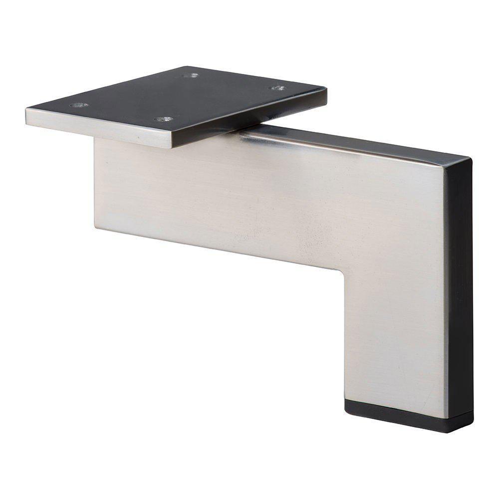 RVS - INOX design hoekprofiel meubelpoot 10 cm