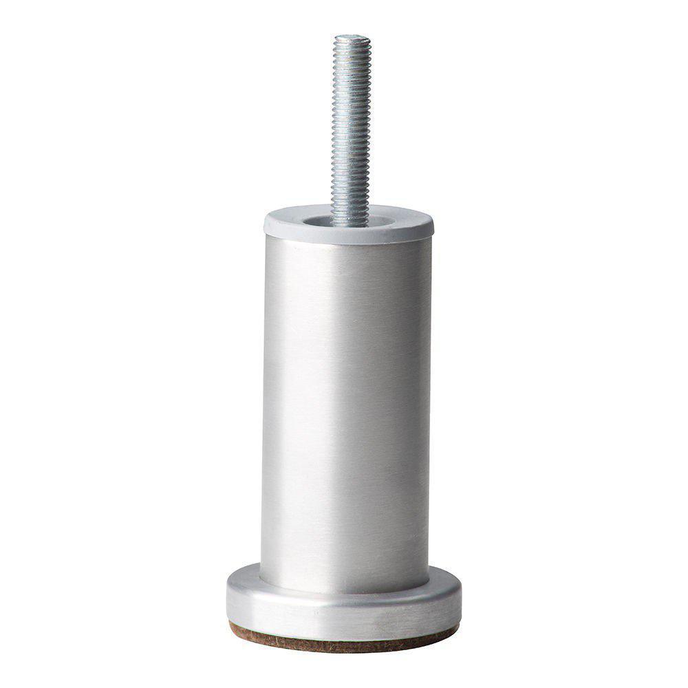 Ronde aluminium meubelpoot 10 cm (M10)