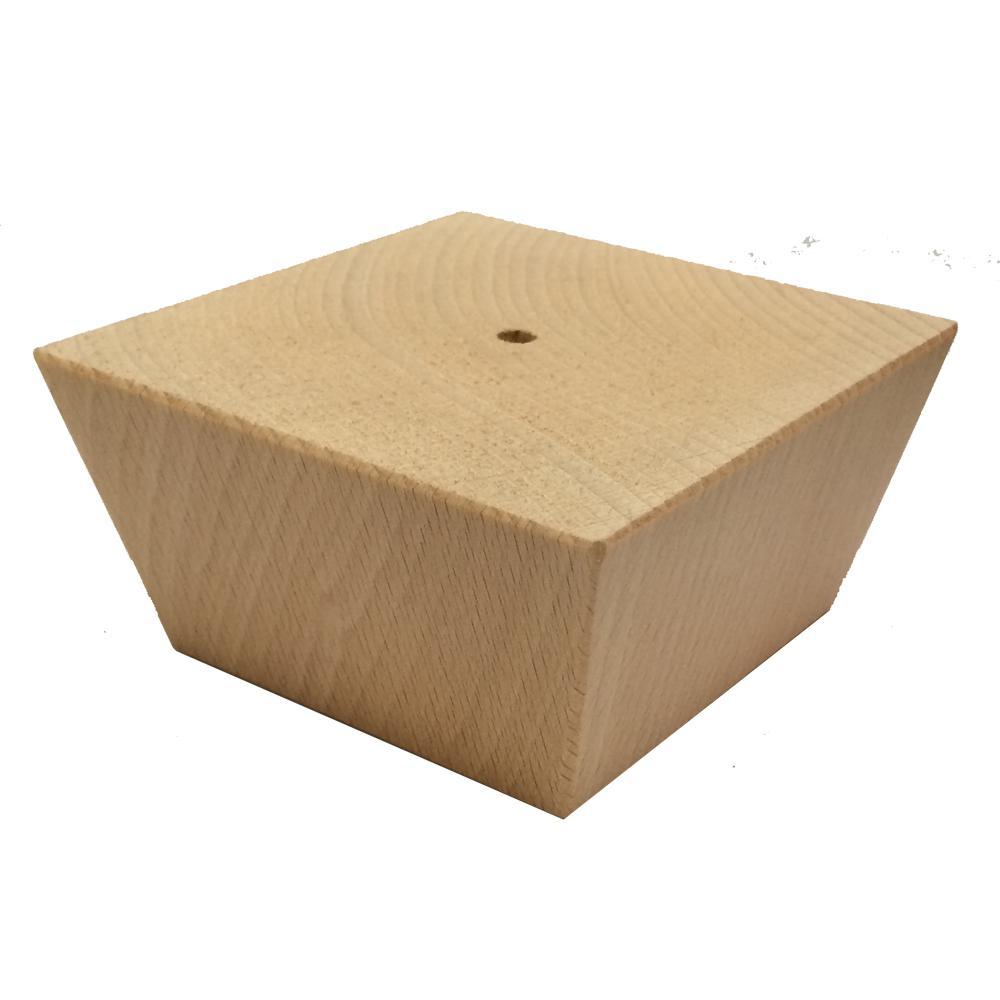 Houten trapezium meubelpoot 5 cm