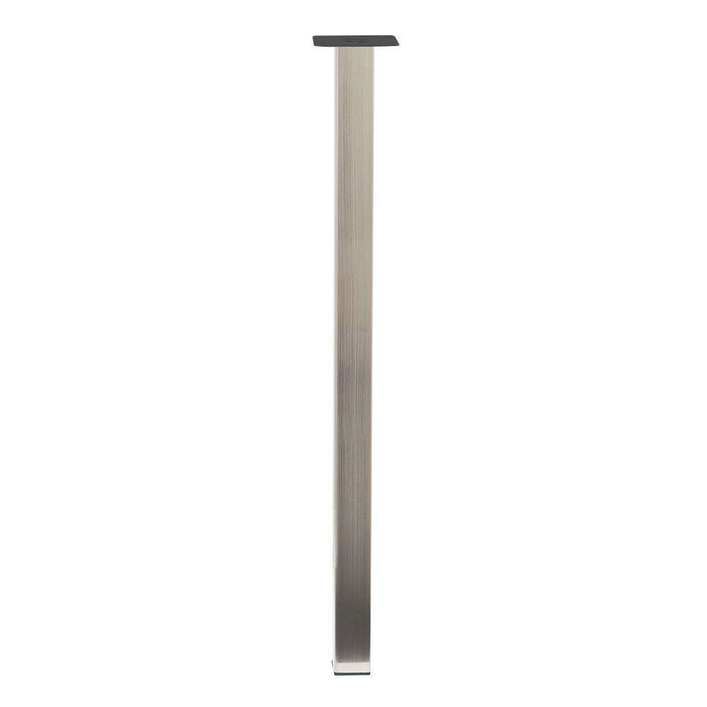 Dagaanbieding - RVS vierkanten stalen tafelpoot 71 cm dagelijkse koopjes