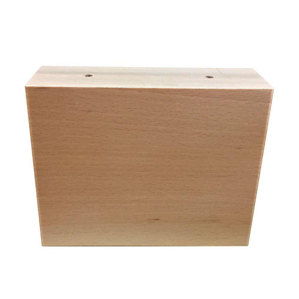Houten meubelpoot 12 cm