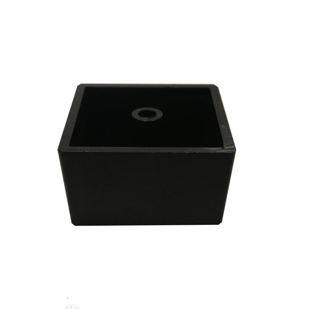 Plastic vierkanten meubelpoot 3 cm kopen