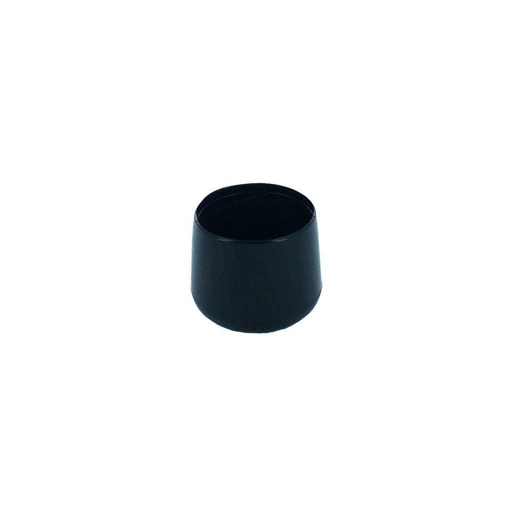 Zwarte omsteekdop diameter 3 cm (zakje 4 stuks)