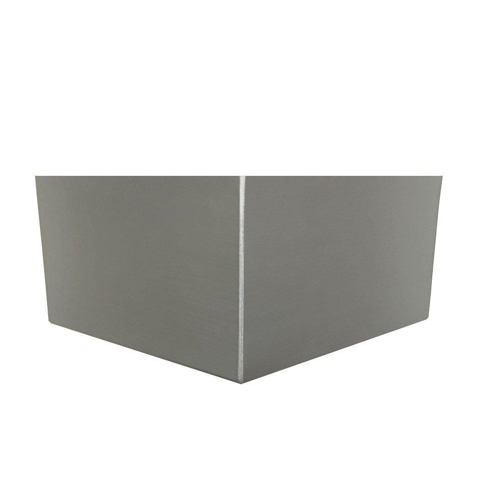 Zilveren houten hoekpoot 10 cm