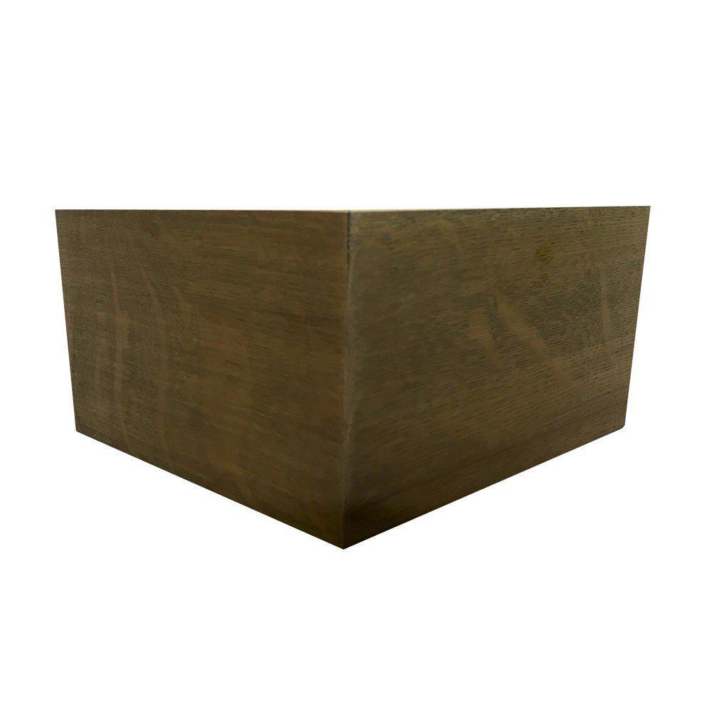 Oil-look houten hoekpoot 10 cm