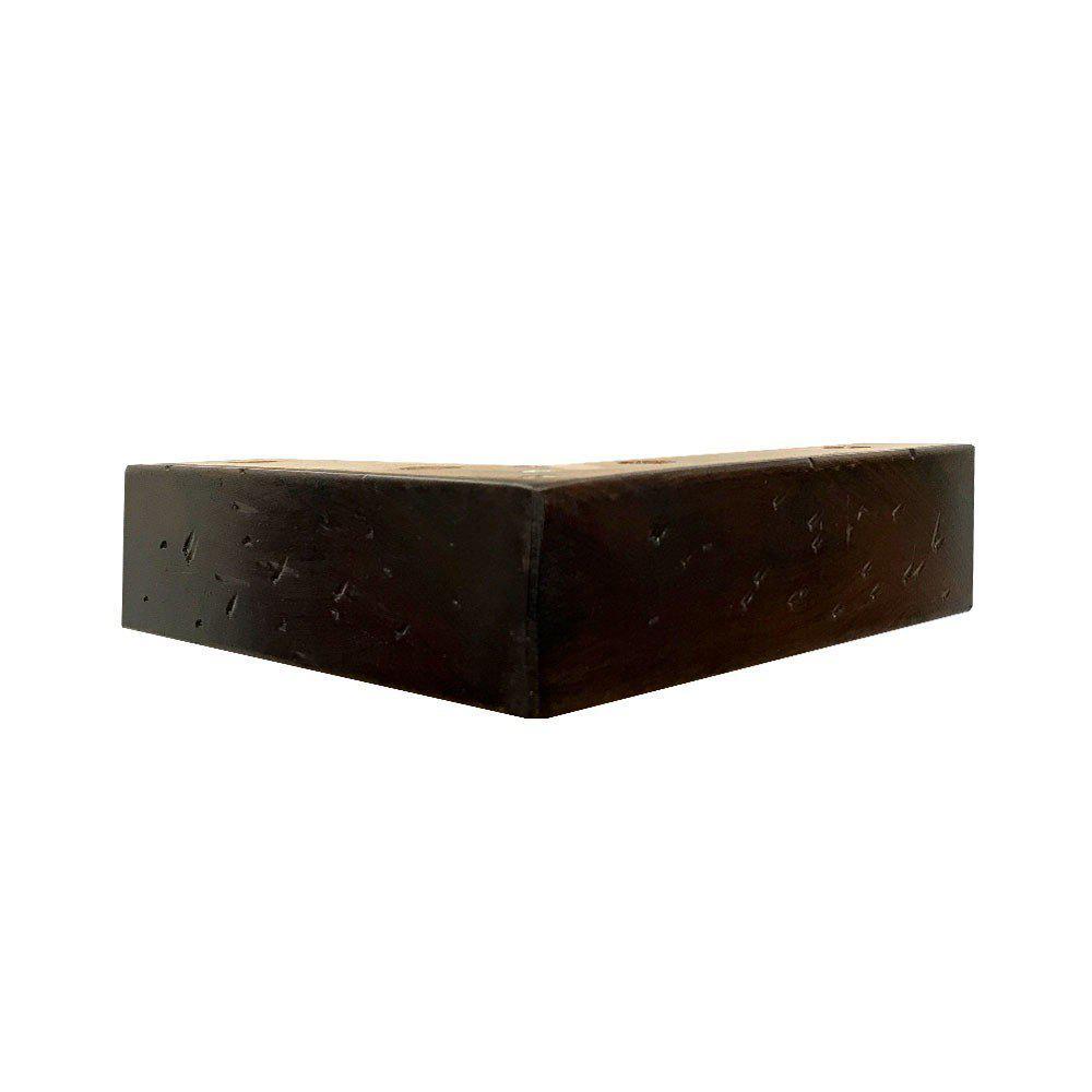 Antiek-look houten hoekpoot 4 cm