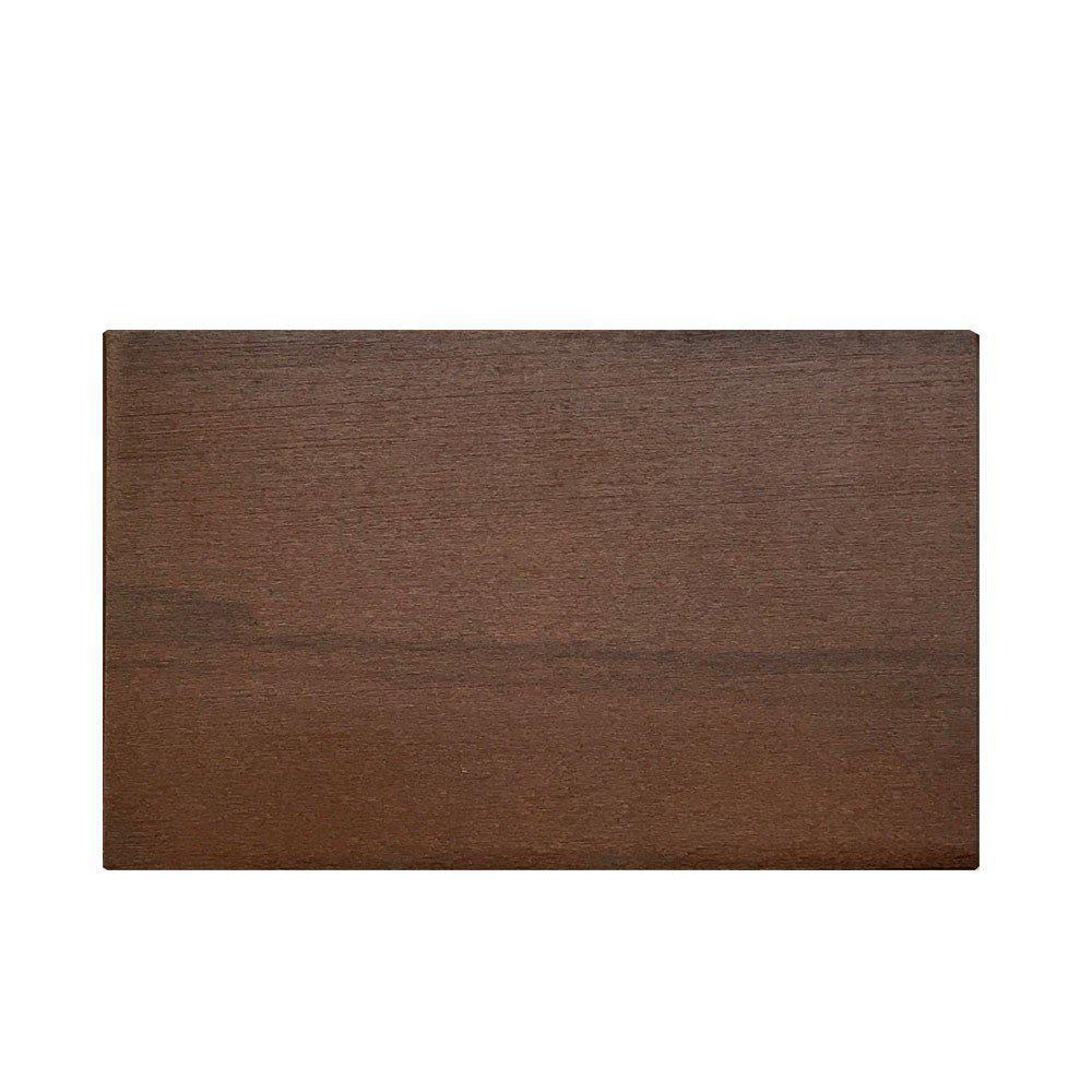 Rechthoekige kersen houten meubelpoot 9 cm