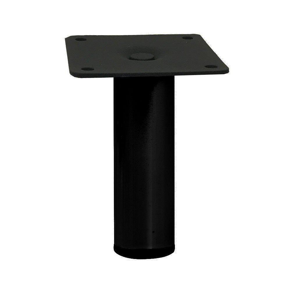 Zwarte ronde meubelpoot 10 cm vergelijken Furniture Legs Europe