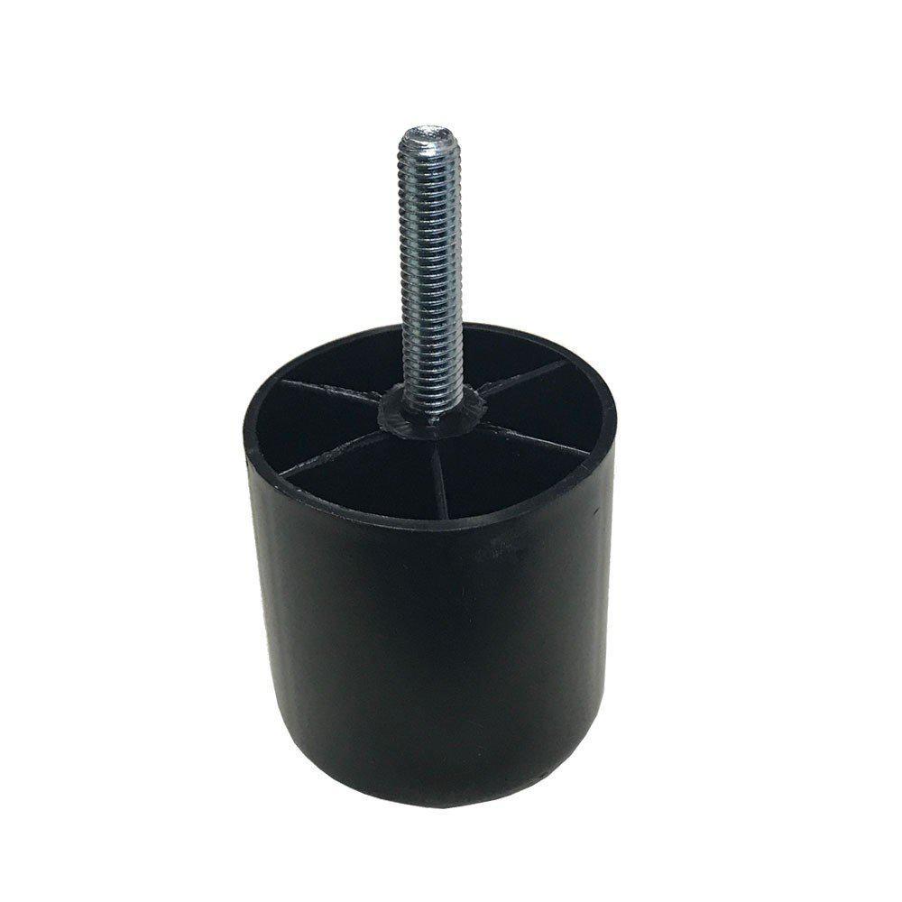 Plastic ronde meubelpoot 5 cm (M8) kopen