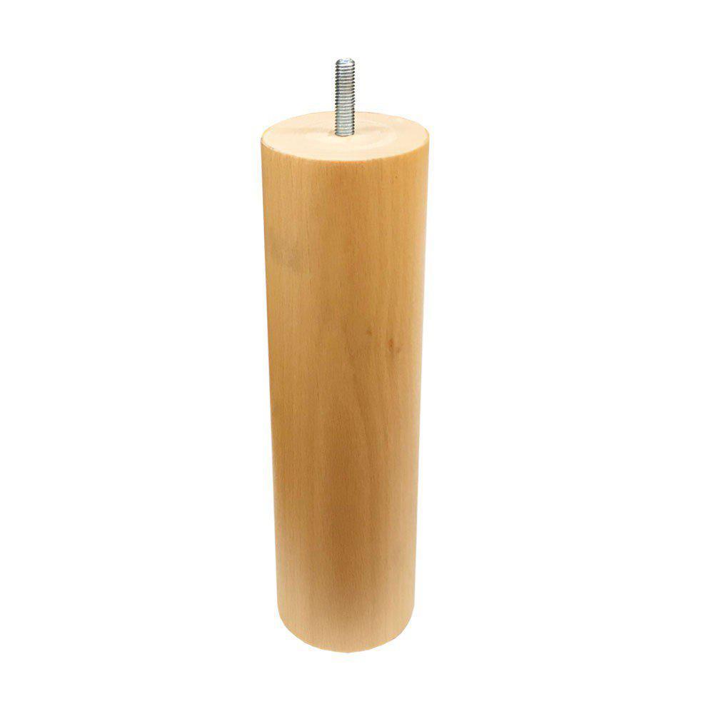 Ronde houten meubelpoot 20 cm (M8)