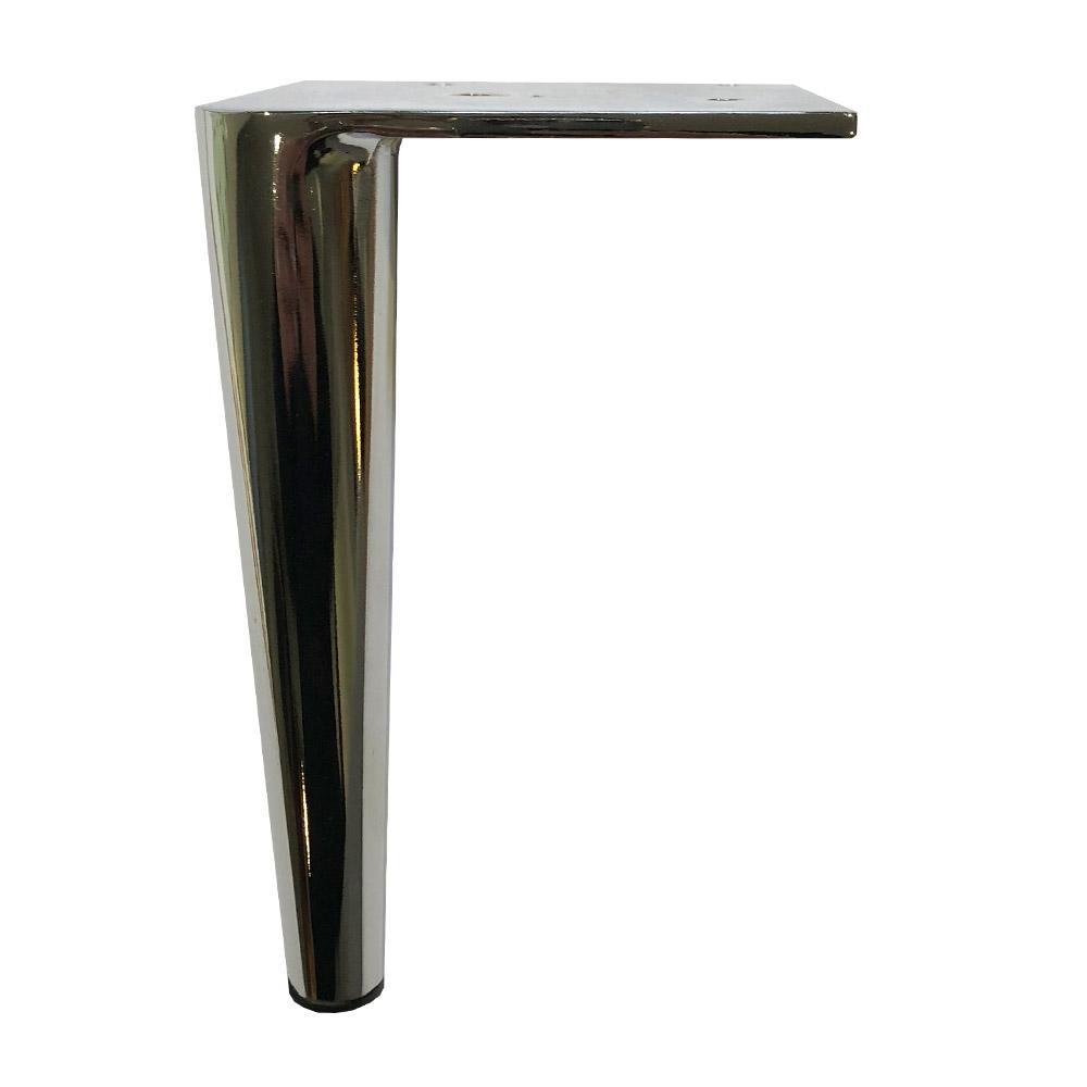 Ronde kegelvormige chromen meubelpoot 15 cm vergelijken Furniture Legs Europe