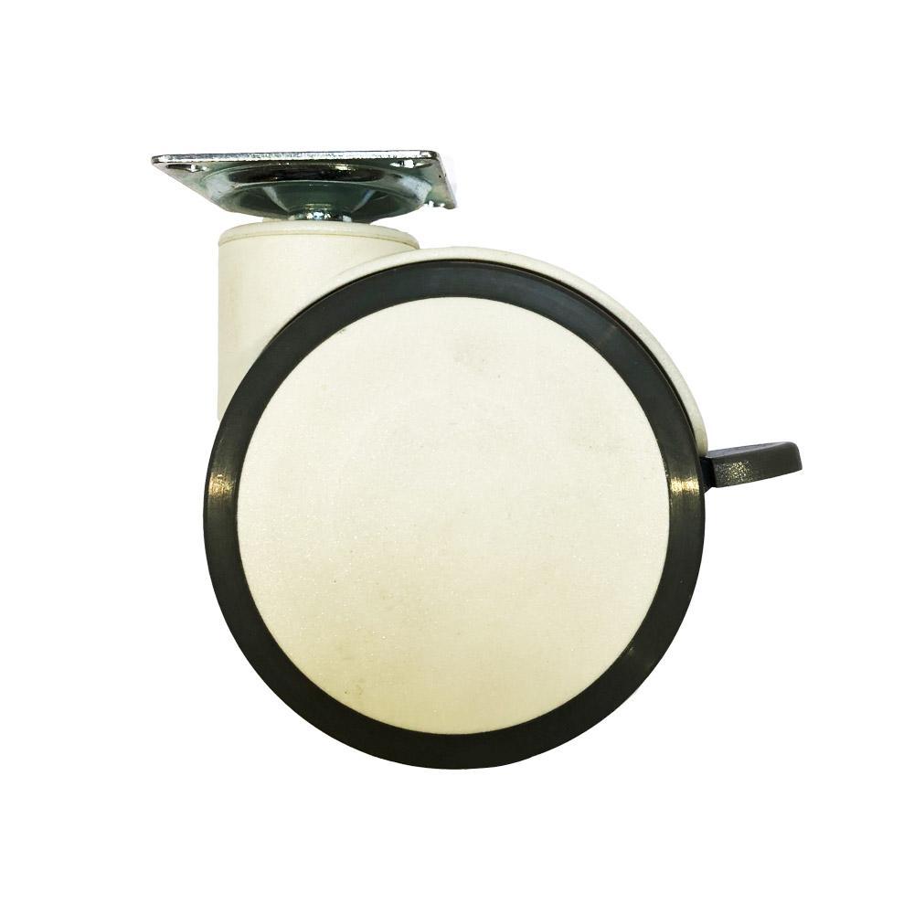 Meubelwiel wit diameter 10 cm kopen