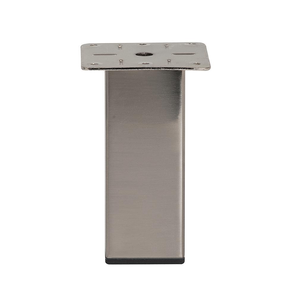 RVS vierkanten meubelpoot 15 cm