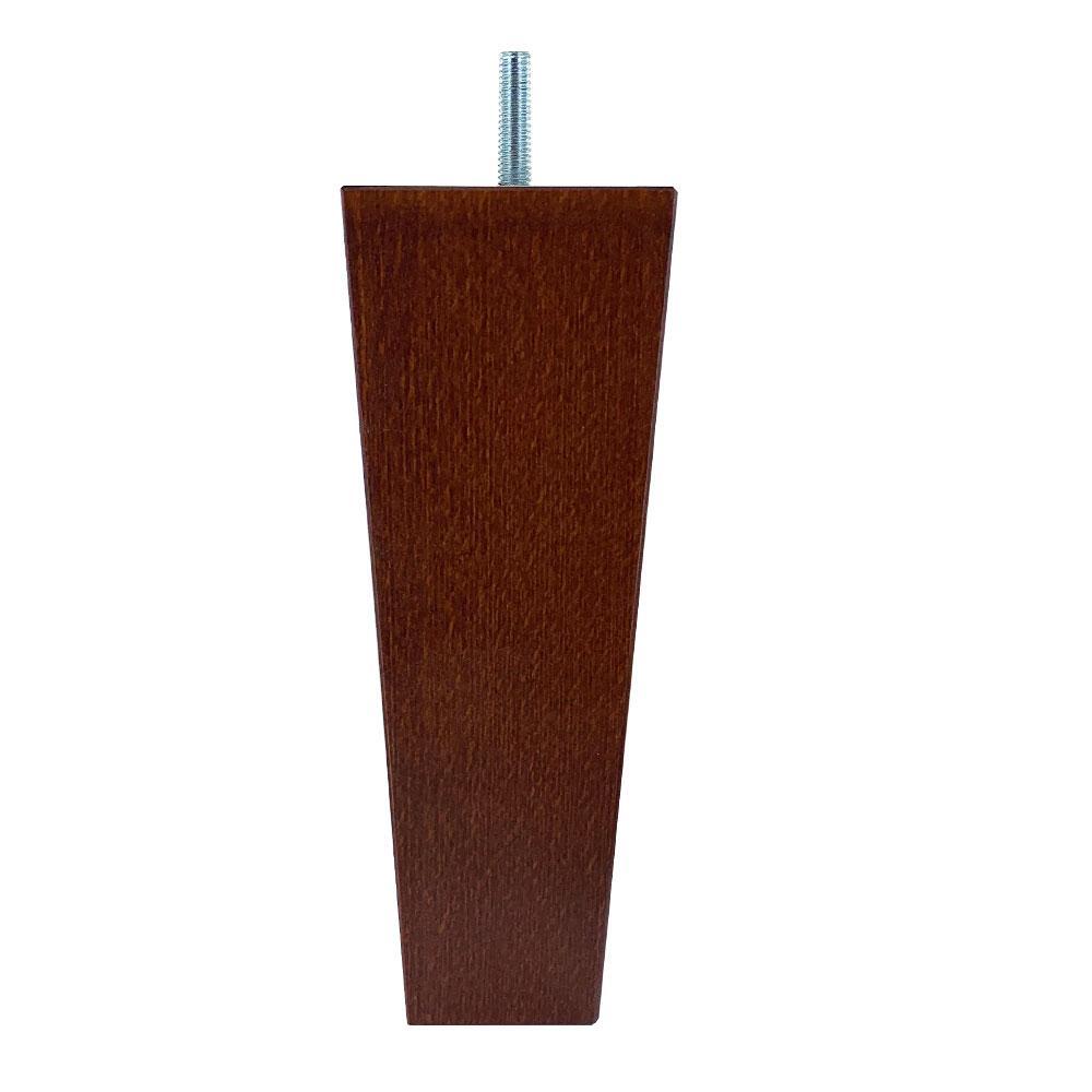 Tapse kersen houten meubelpoot 20 cm (M8)
