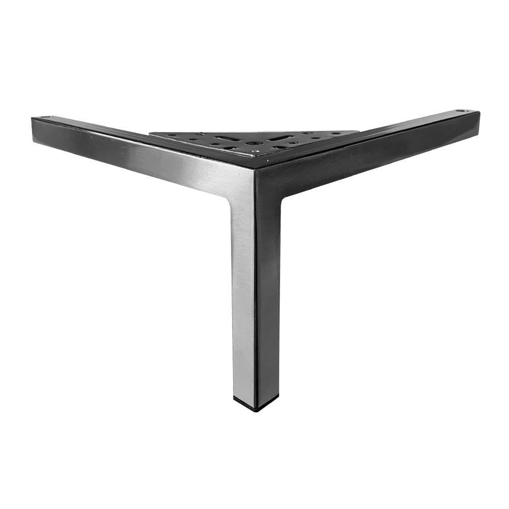 RVS design hoekpoot 14 cm
