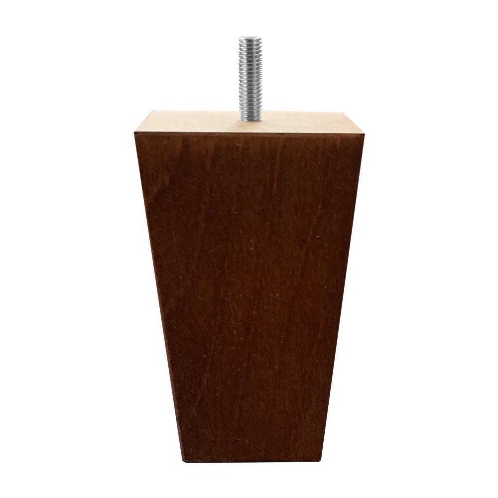 Tapse kersen houten meubelpoot 12 cm (M8)