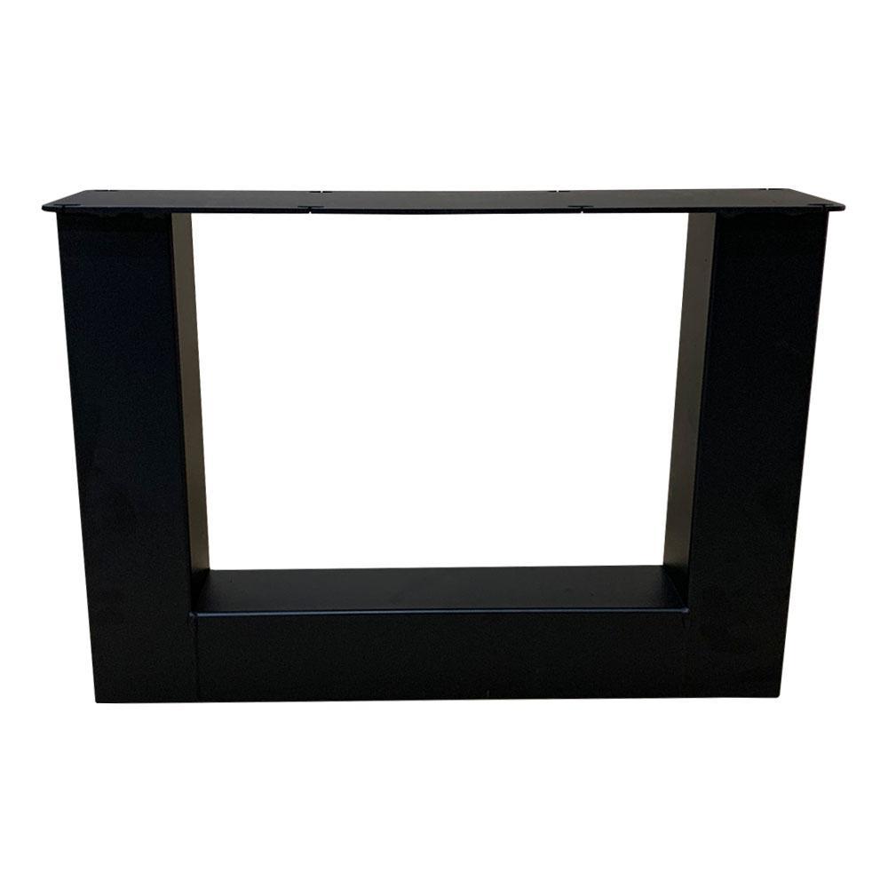 Set U tafelpoten 40 cm (koker 8 x 8 cm)