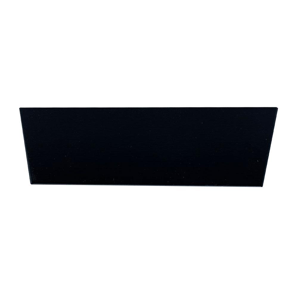 Vierkanten schuinaflopende houten zwarte meubelpoot 5 cm