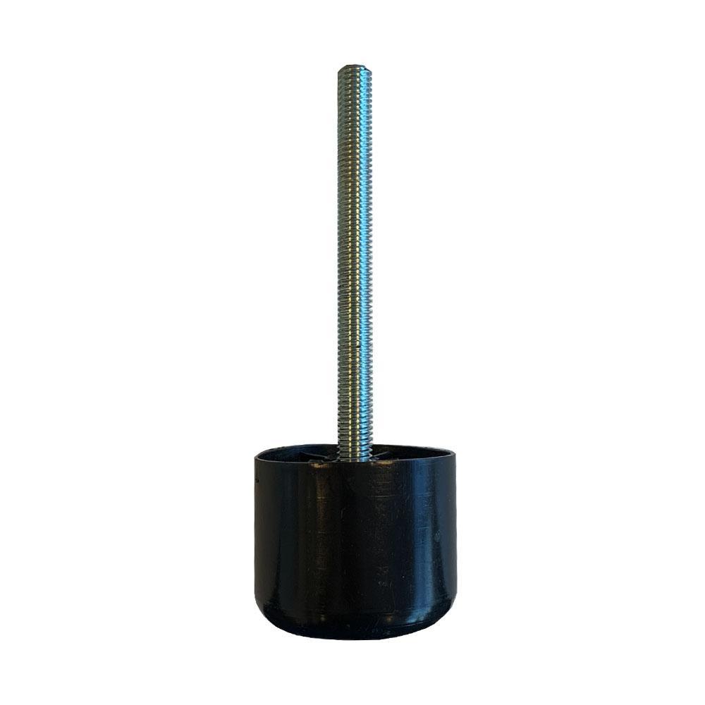 Plastic ronde meubelpoot 4,5 cm (M10)